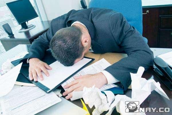 Стрессы на работе провоцируют забывчивость