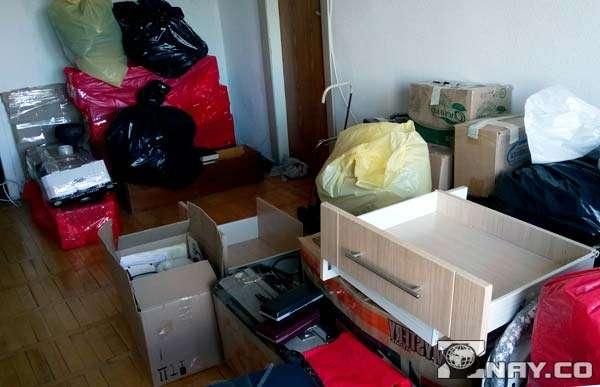 Правильно упакованные и разложенные вещи