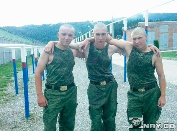Три друга из одной воинской части