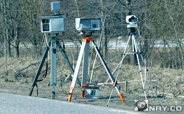 Три камеры фиксации нарушений ПДД