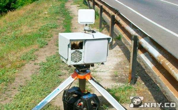 Частная система видеофиксации скорости