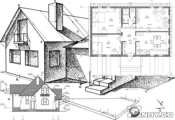 Схематический проект дома частного