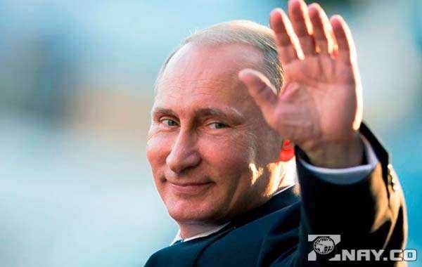 Президент приветствует свой народ