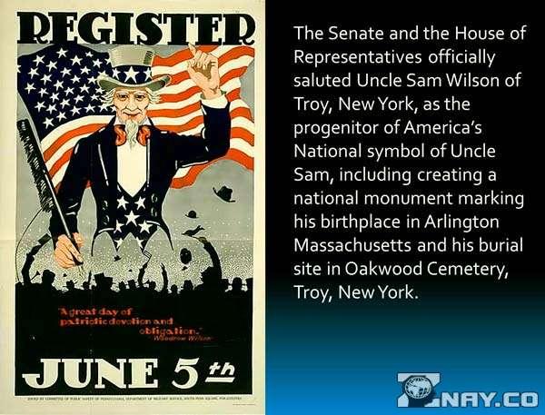 Первое издание - упоминание Uncle SAM