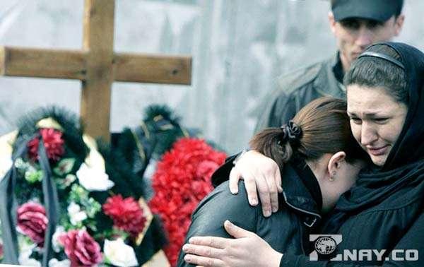 На похоронах близкого человека