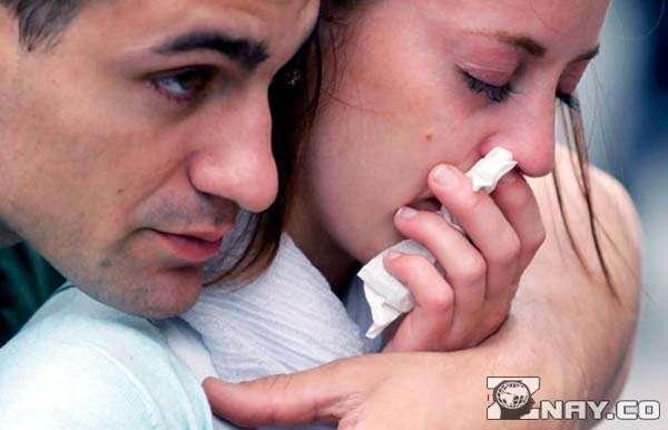 Девушка поссорилась с близким человеком - мужем