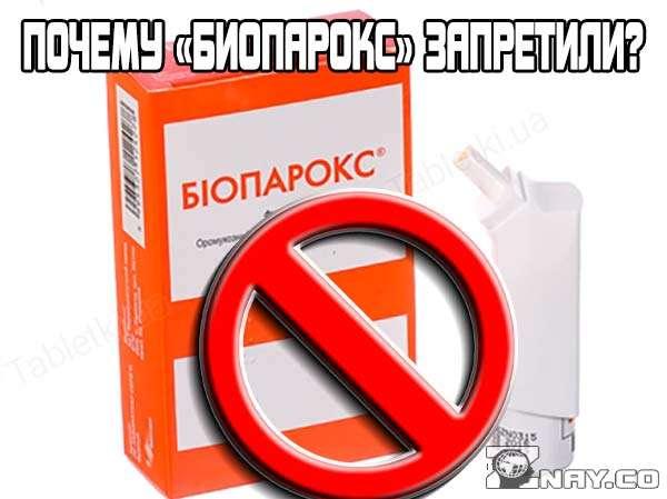 Почему «Биопарокс» запретили в России?