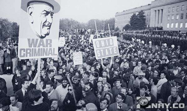 Протест против войны во Вьетнаме