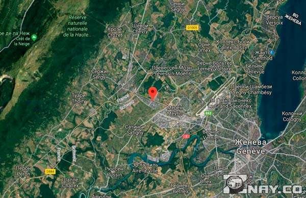 БАК возле Женевы