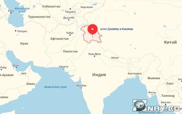 Кашмир - регион за который идет война