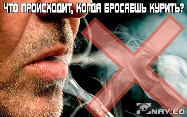 Что происходит, когда бросаешь курить?