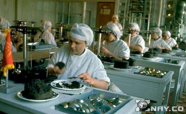Производство осетрового продукта в СССР