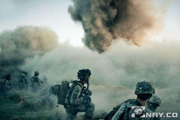 Залпы и взрывы агрессоров