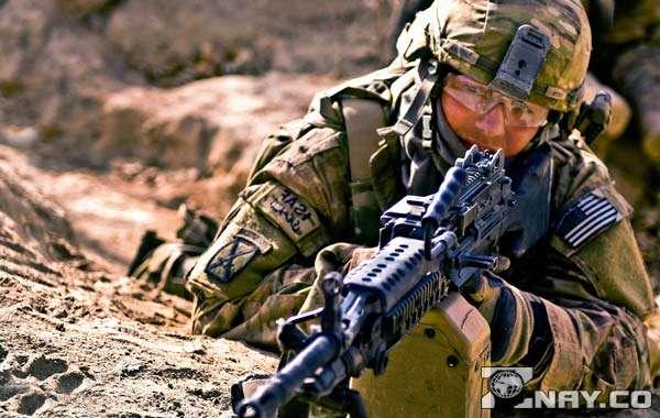 Американский солдат - сеайпер