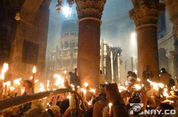 Церемония зажжения в апреле