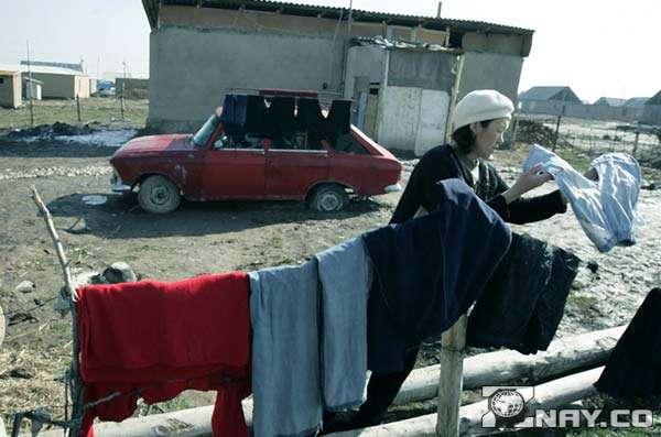 Не богатая жизнь в Казахстане