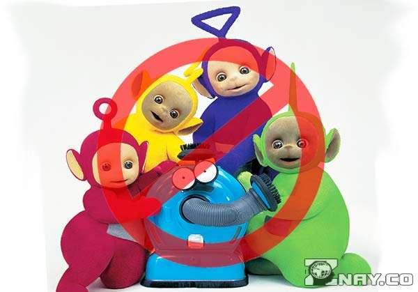 Все 5 персонажей с пылесосом