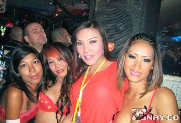 Тайские трансгендеры на улицах