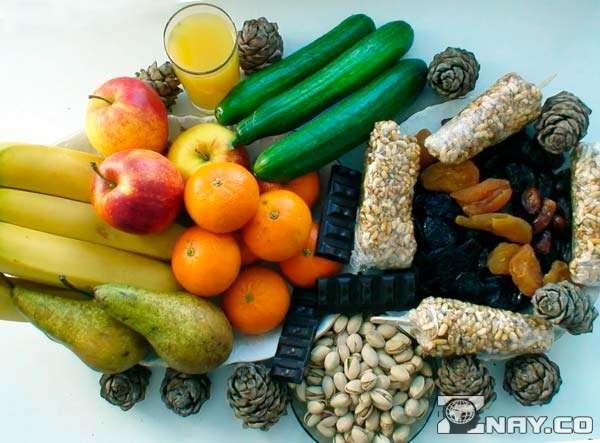 Растительная пища перед Пасхой