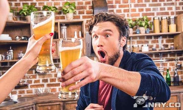 Любители выпит пива