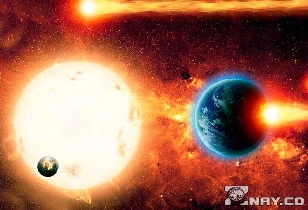 Блуждающие звезды и метеориты
