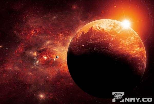 Планета X рядом с Землей