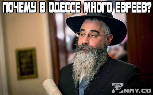 Почему в Одессе много евреев?
