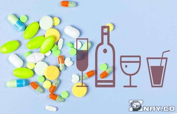 Препараты и спиртные напитки