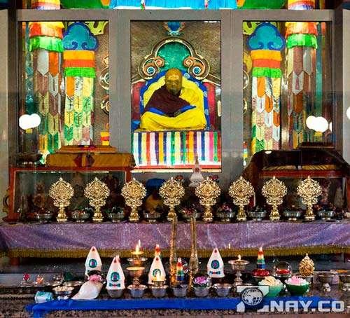В буддистском храме
