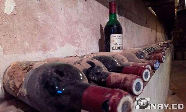 Бутылки с осадком