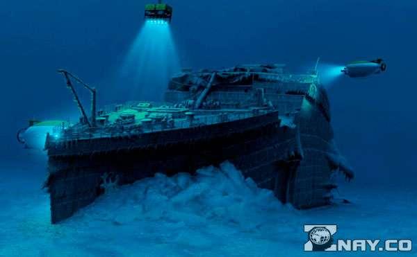 Корабль на дне спустя столетия