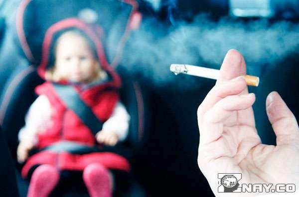 Ребенок - жертва курильщика