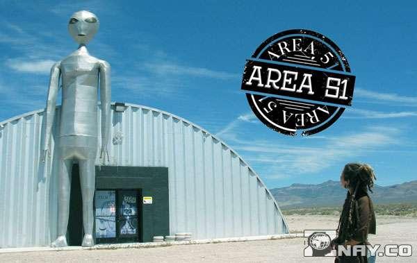 Area 51 в пустыне