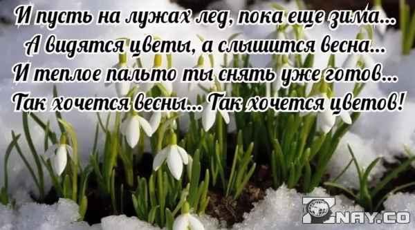 Высказывания и цитаты про весну