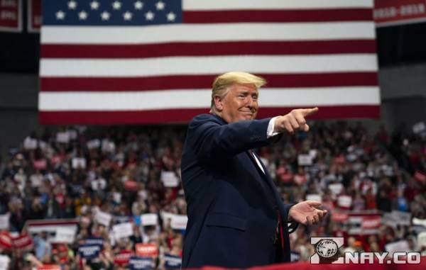 Текущий президент США Трамп