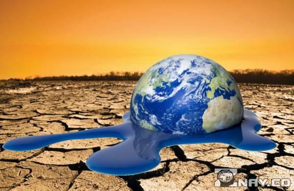Пустынная Земля - потеплело