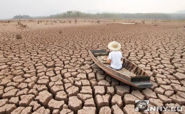 Засуха и потепление на Земле